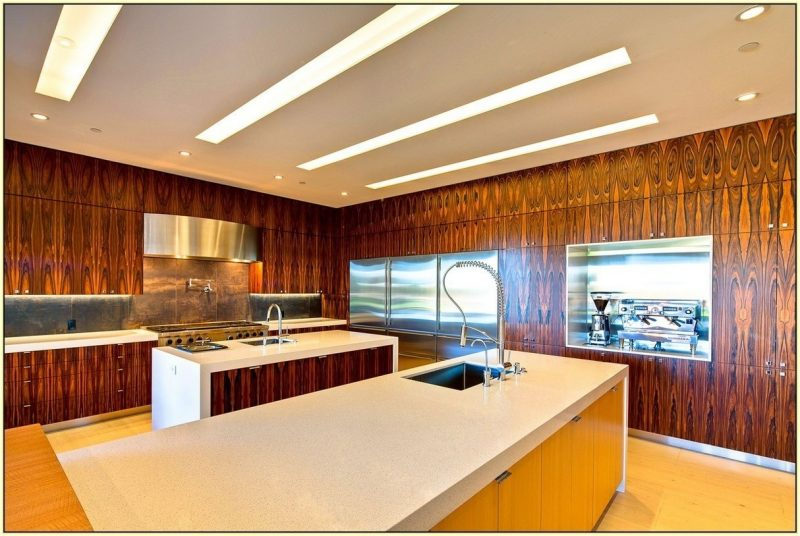 20 faszinierende ideen f r holz wandverkleidung deko - Kitchen wall covering options ...