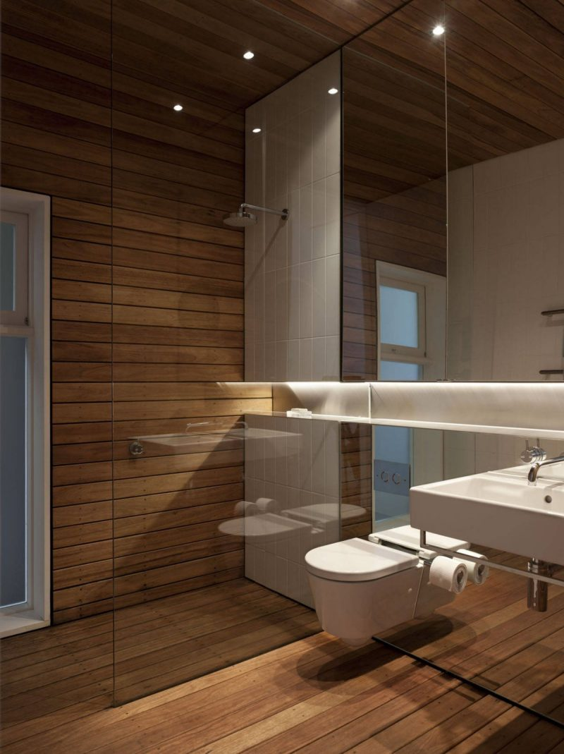 Holz Wandverkleidung Badezimmer