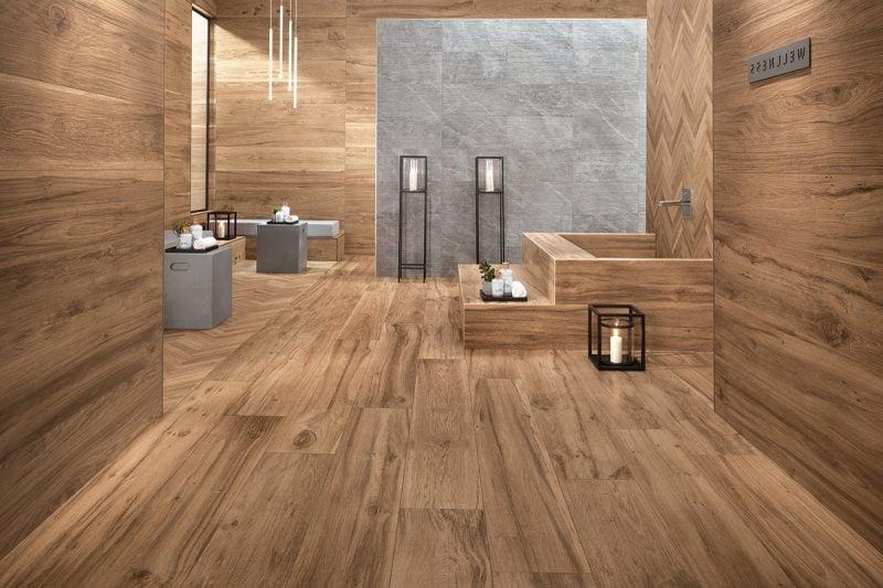 Holz Wandverkleidung Bad Design