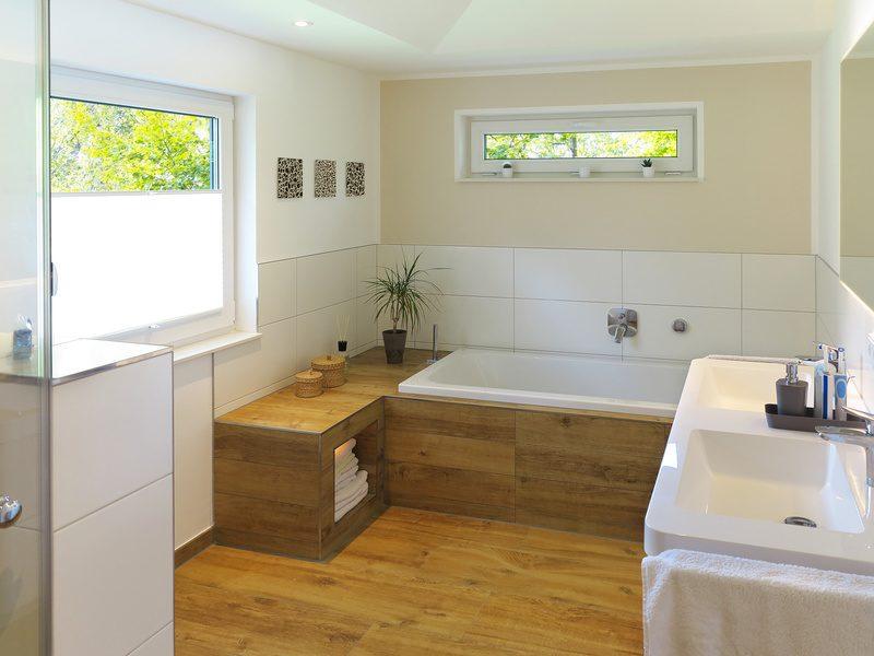 Holzfußboden Modern ~ Holzfußboden im bad richtige pflegen für stilvolles aussehen