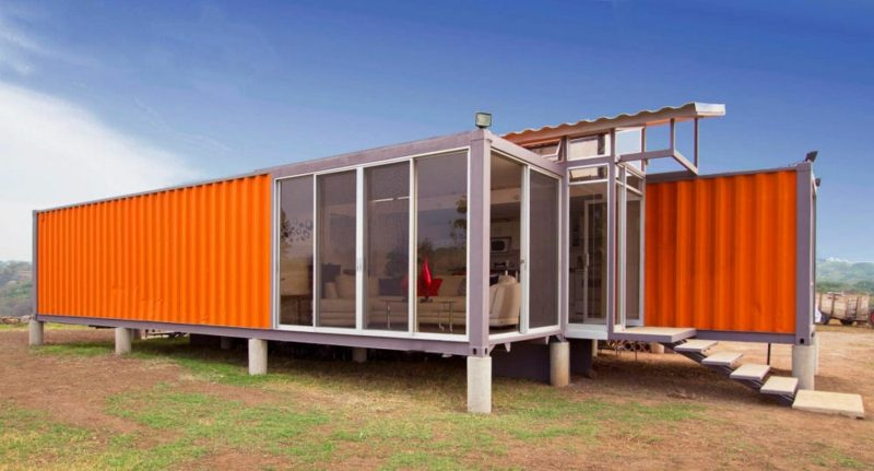 modernes Container Haus
