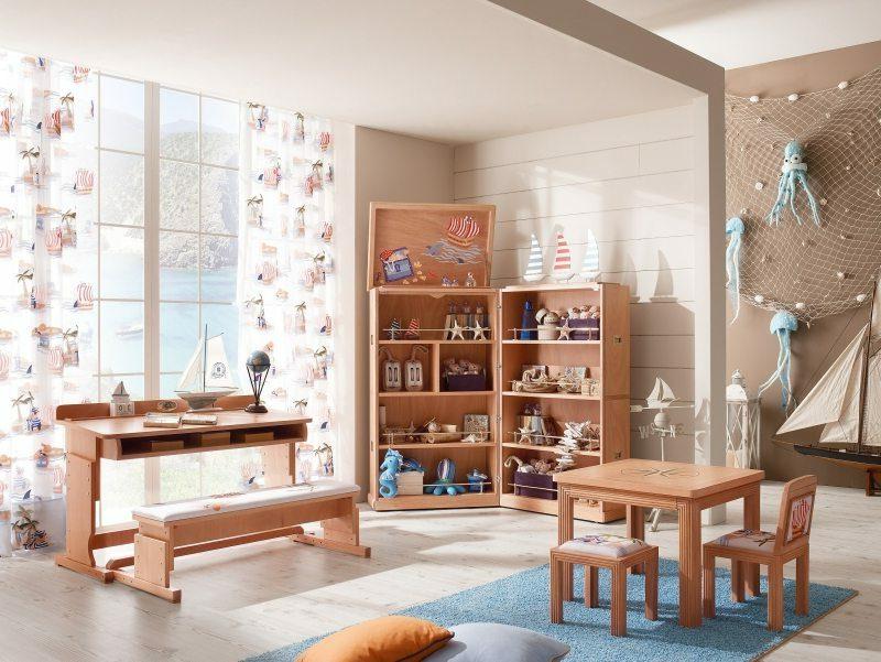 maritime Einrichtung Kinderzimmer