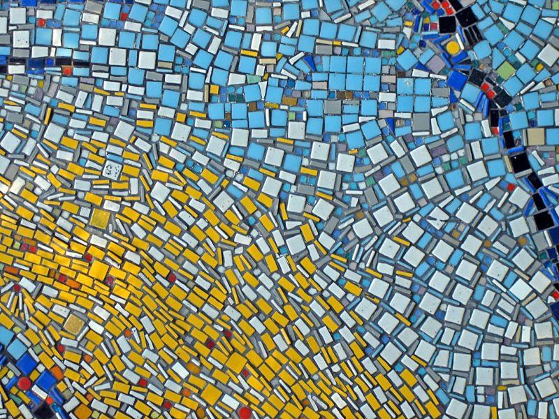 originelles Mosaik DIY kreative Ideen