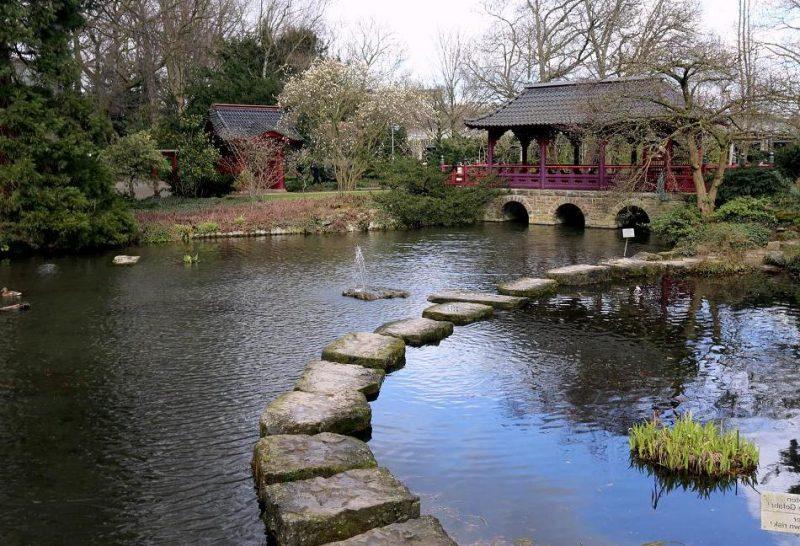 Japanische Gärten faszinierend