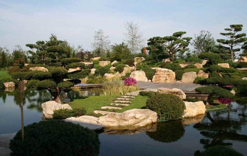 Japanische Gärten gestalten