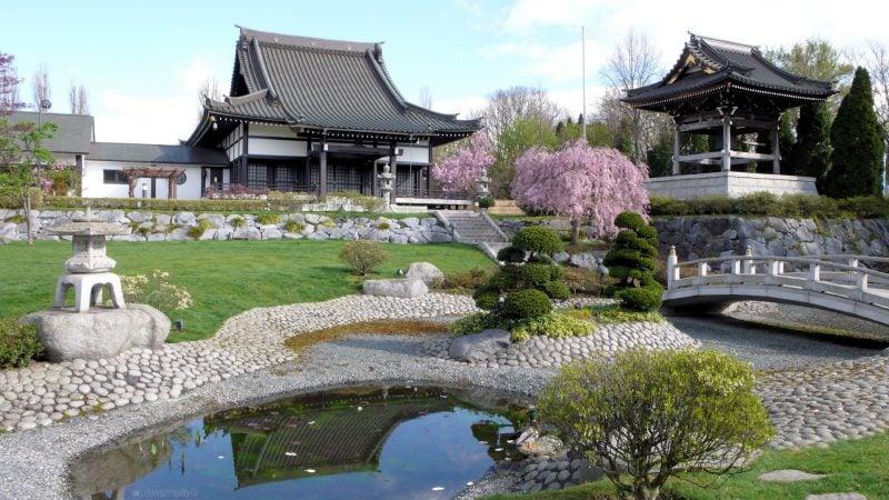 Japanische Gärten Haus