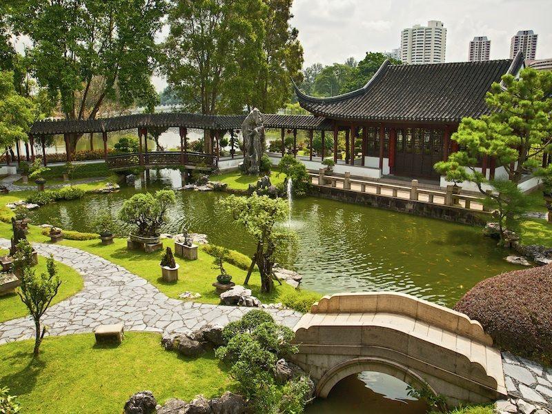 Japanische Gärten Ideen Gestaltung re