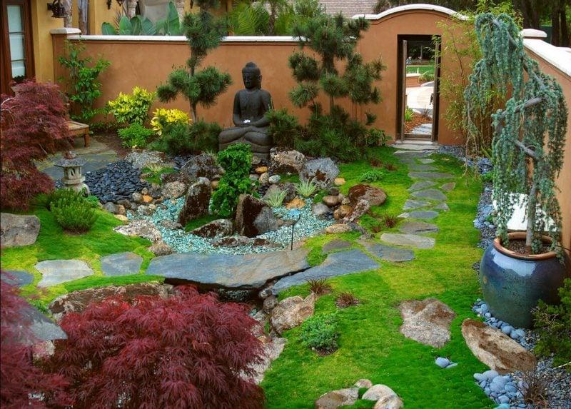 Japanische Gärten Ideen Gestaltung