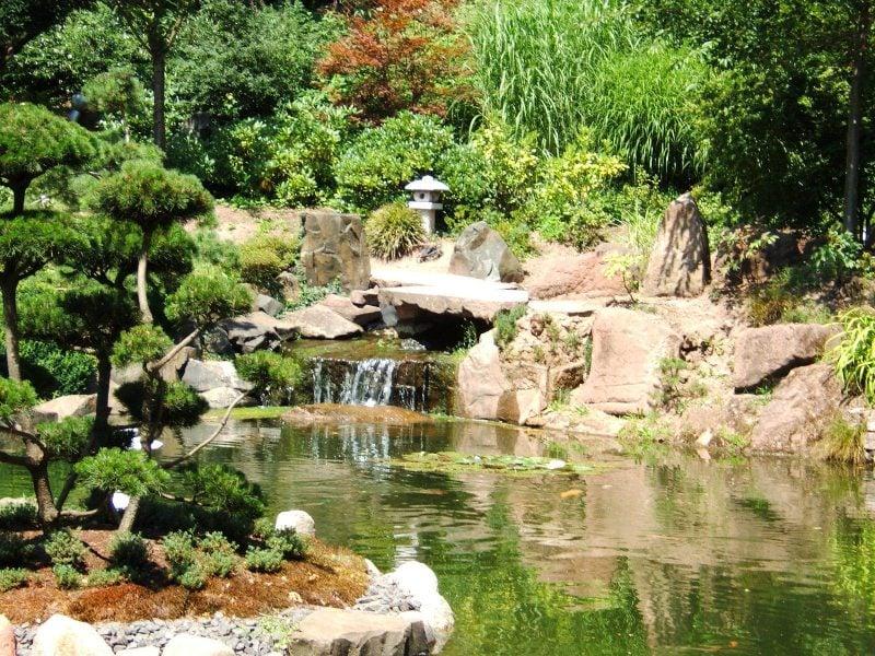 Ideen und Gestaltung Japanische Gärten