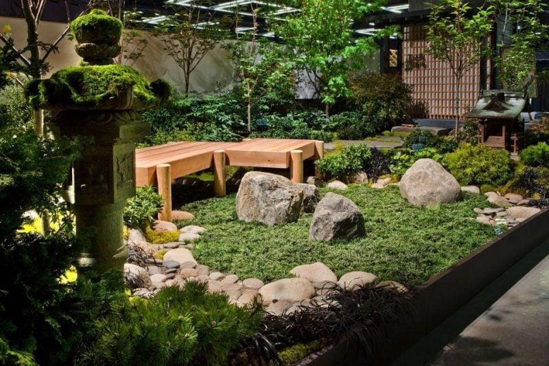 Japanische Gärten kleine