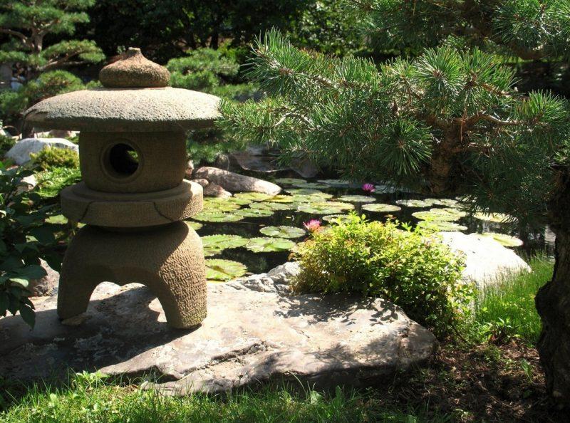 Japanische Gärten Lantern