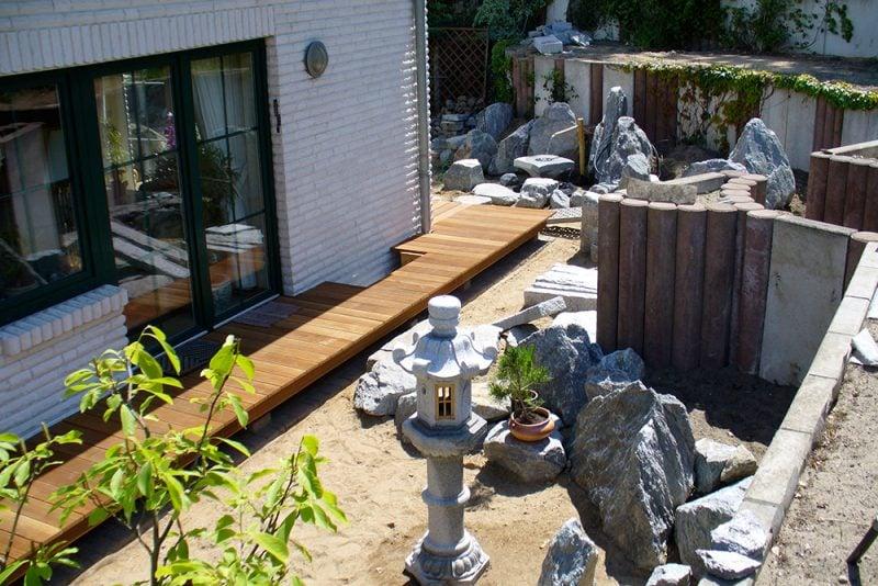 Japanische Gärten Idee