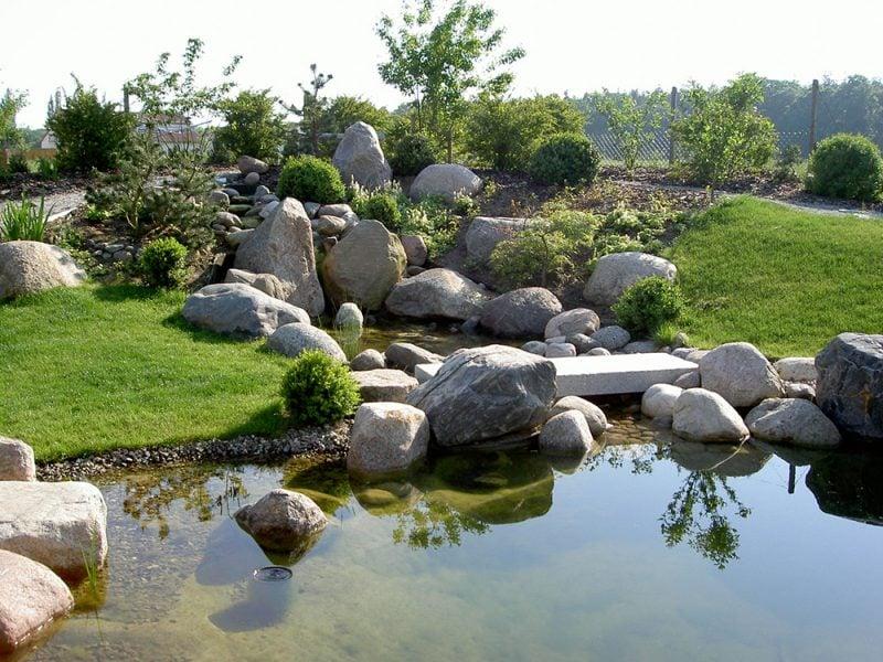 Japanische Gärten Teichgarten