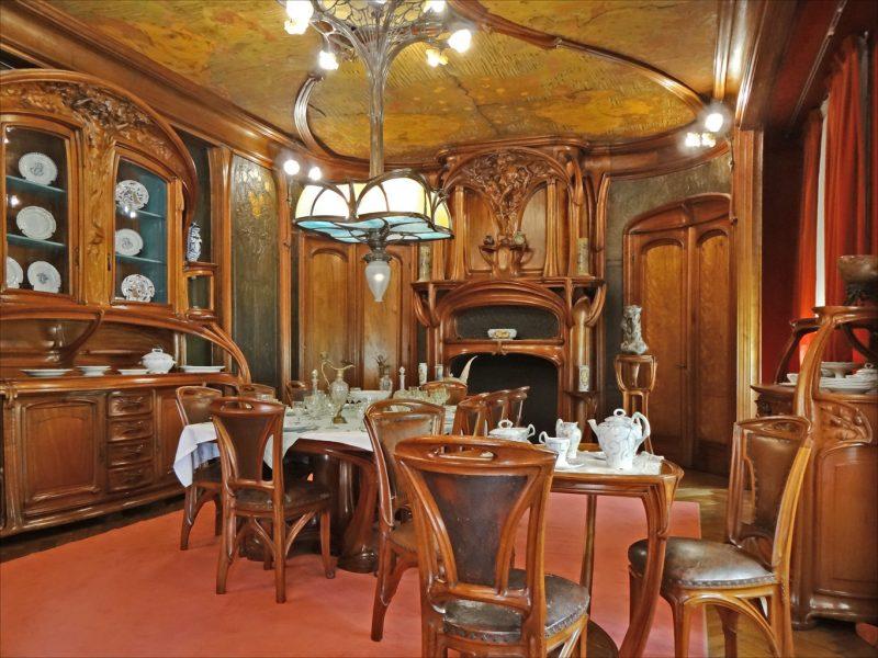 wohnen wie ein aristokrat: jugendstil merkmale in der einrichtung, Esszimmer dekoo