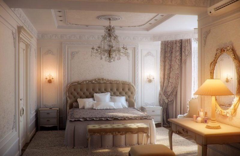 Jugendstil Merkmale Schlafzimmer in Art Nouveau