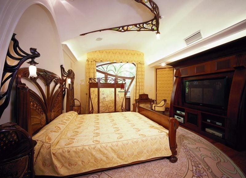 Jugendstil Merkmale Schlafzimmer Innendesign