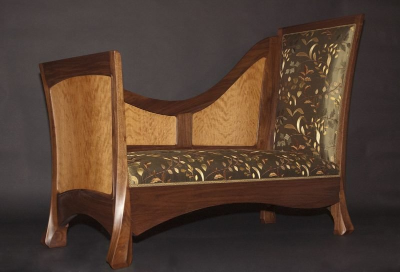 Jugendstil Merkmale Holz Sofa