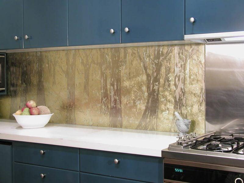 küche glasrückwand beeindruckend