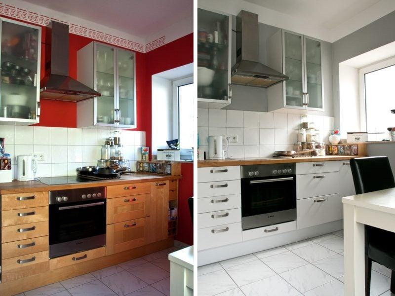 küchenfronten austauschen farblich