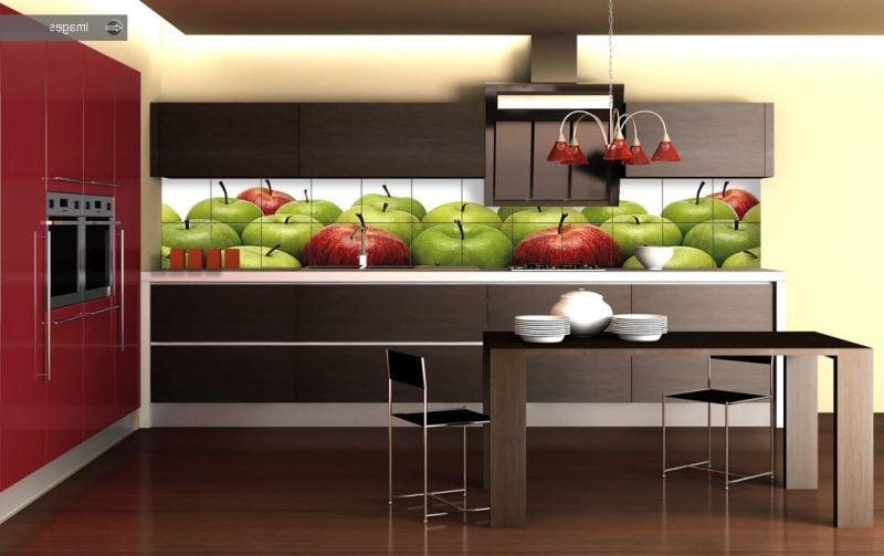 küchenwandgestaltung frisch