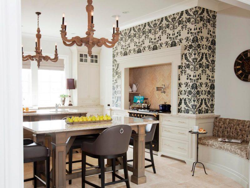 küchenwandgestaltung elegant