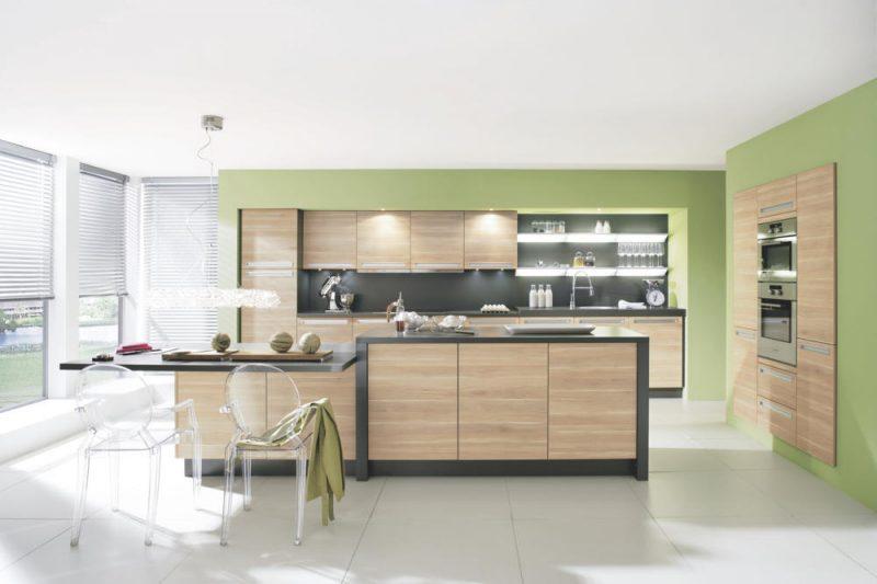 Küchenwandgestaltung Grün