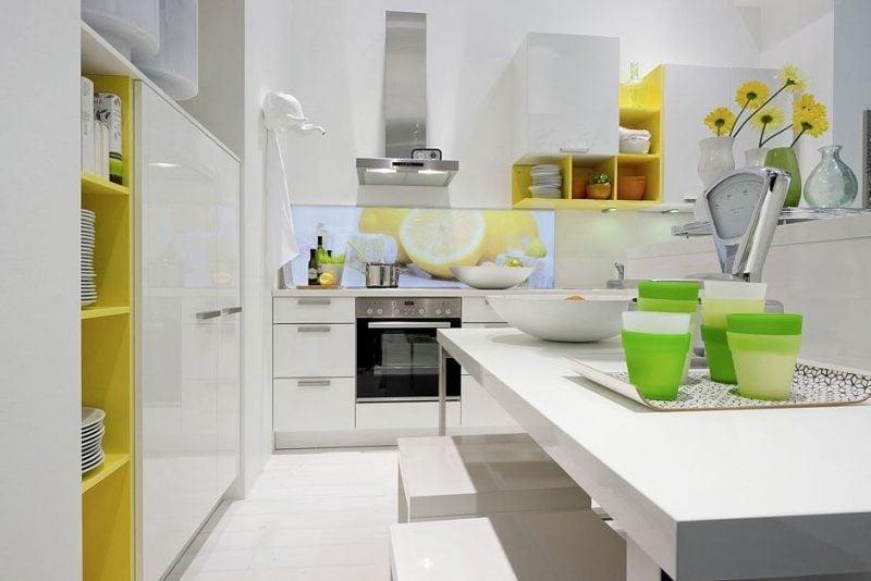 22 stilvolle Vorschläge für Küchenwandgestaltung - Esszimmer, Küche - ZENIDEEN