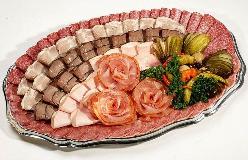 Kalte Platten Fleisch
