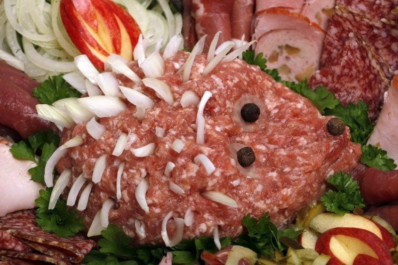 Kalte Platten Fleisch Schwein