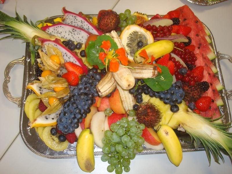 Kalte Platten Fruchte