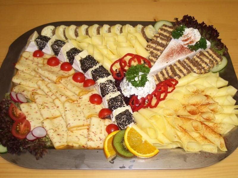 Kalte Platten Käse