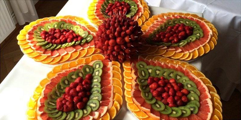 Kalte Platten Obst Ideen