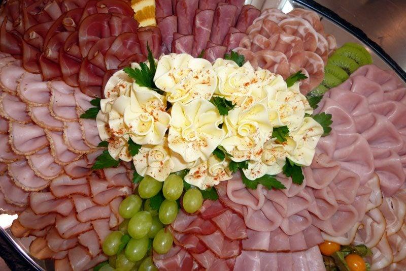Kalte Platten Salami