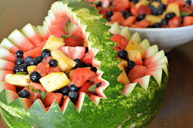 Kalte Platten Wassermelon