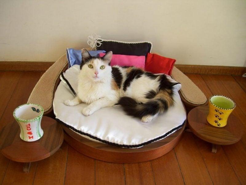 Katzenmöbel Bett