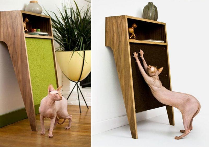 Katzenmöbel kreativ