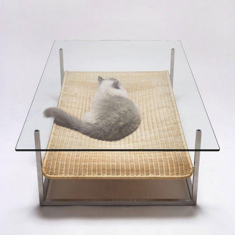 Katzenmöbel Tisch Idee