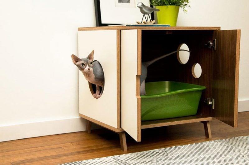 Katzenmöbel Schrank