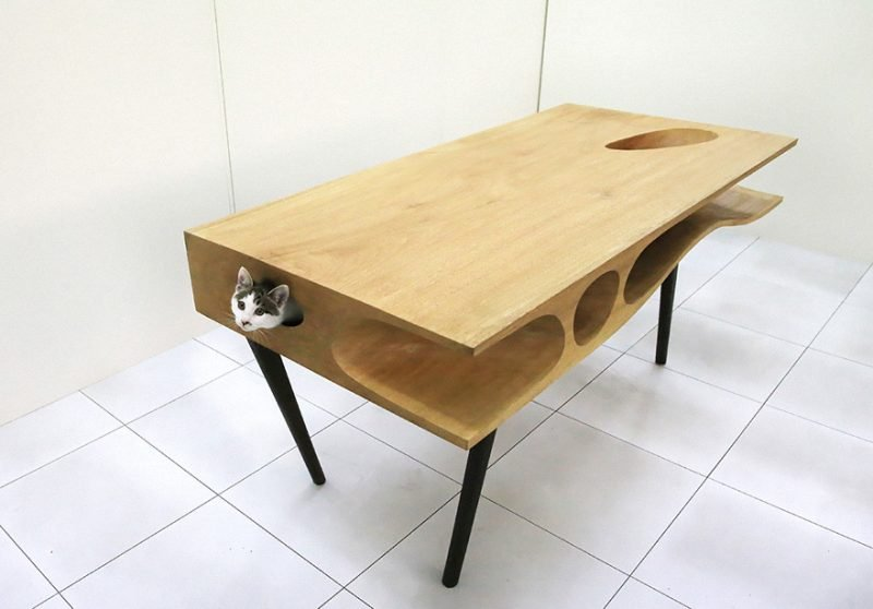 Katzenmöbel Tisch