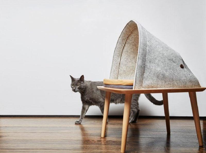 Katzenmöbel Tisch Bett