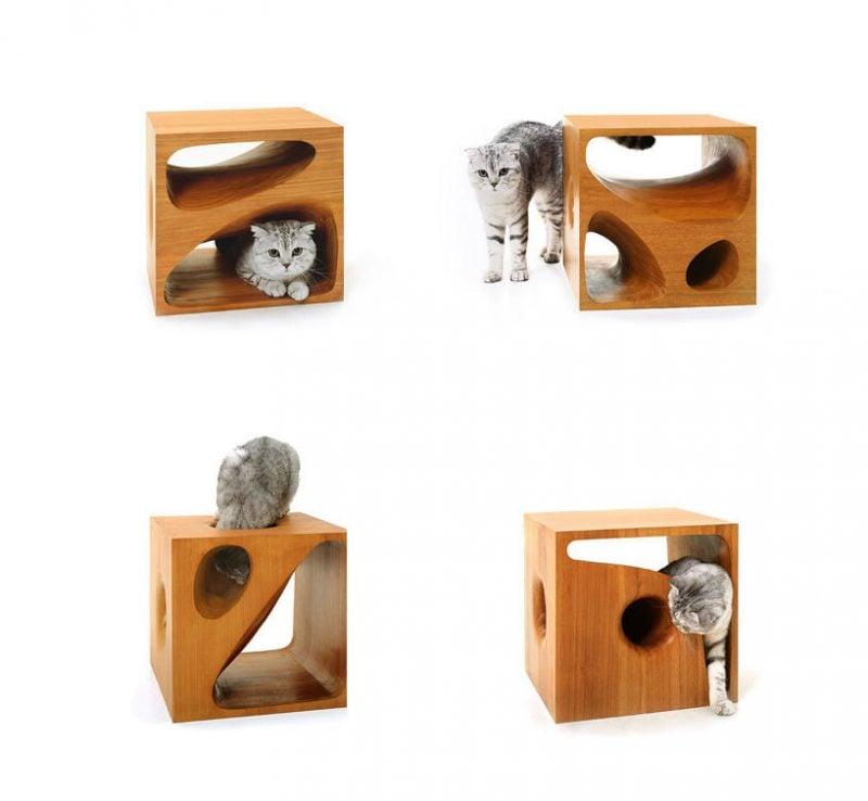 Katzenmöbel Holz