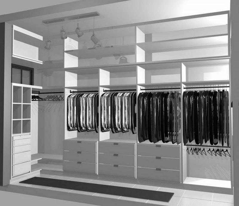 Kleiderschranksysteme Projekt