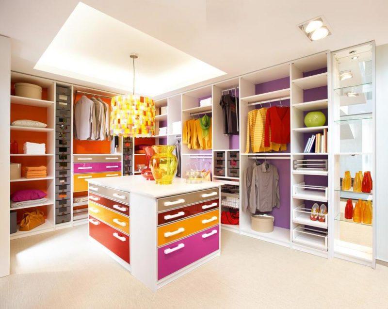 Kleiderschranksysteme Mehrfarbig