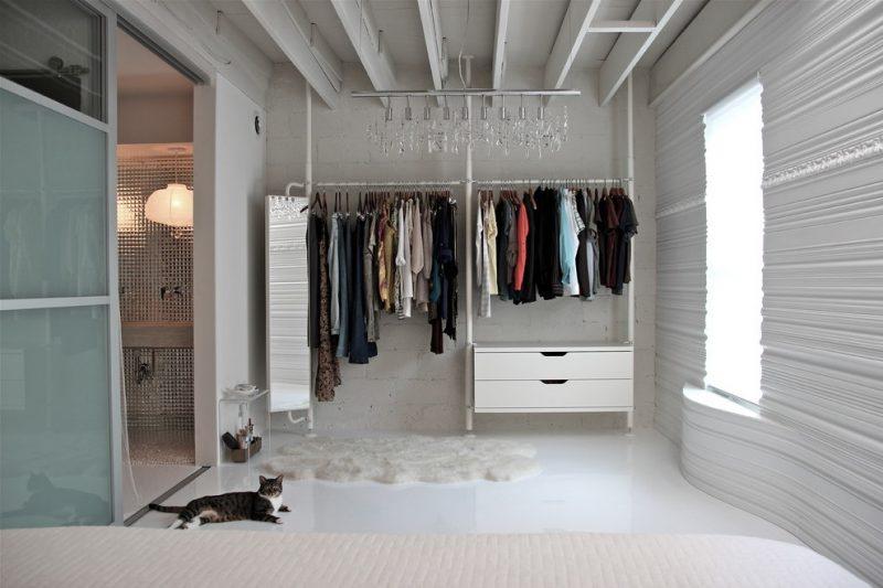 Kleiderschranksysteme in Weiß