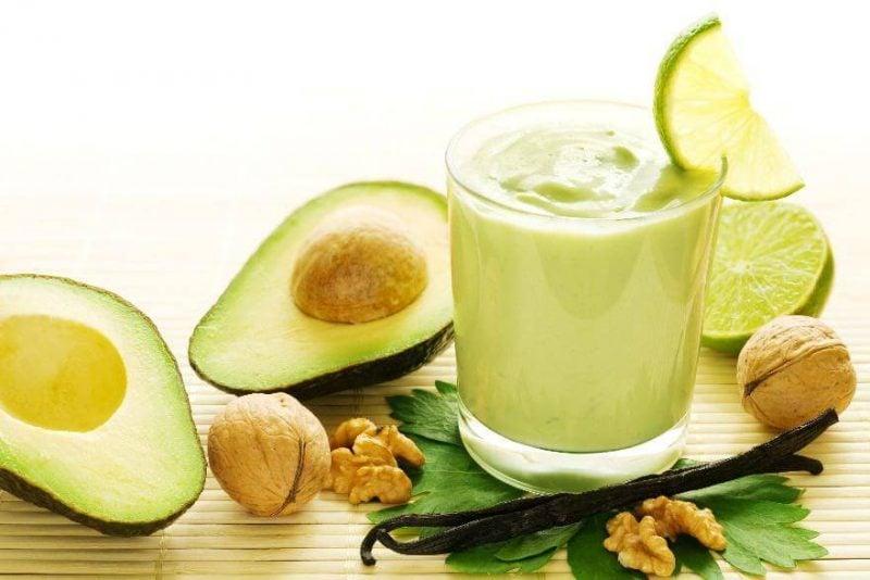 Körperentgiftung Avocado Smoothie