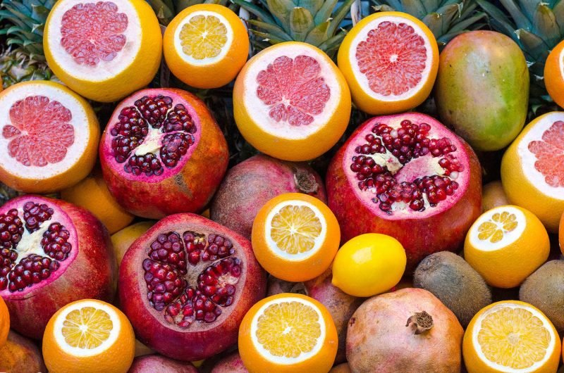 Körperentgiftung Orangen