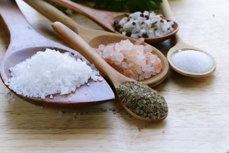 Körperentgiftung Salze