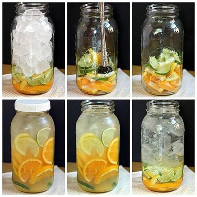 Körperentgiftung Wasser Rezept