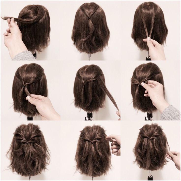 Kommunionfrisuren Kurze Haare