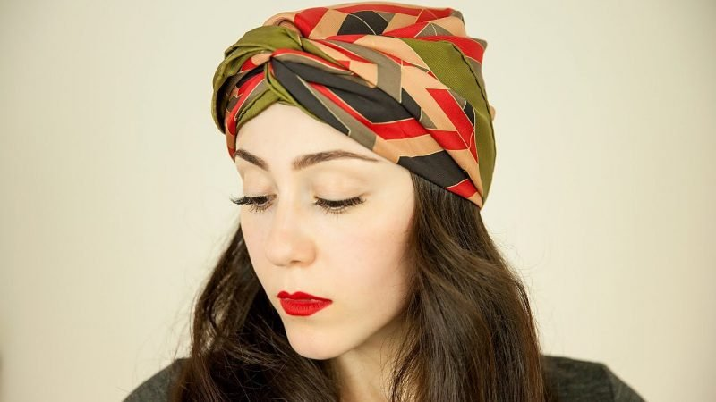 Kopftuch binden DIY Ideen  Piraten kopftuch